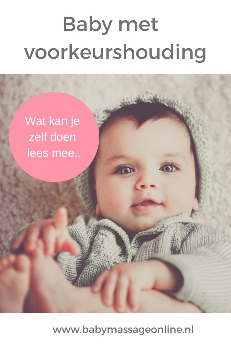 Voorkeurshouding baby - alle tips en oefeningen